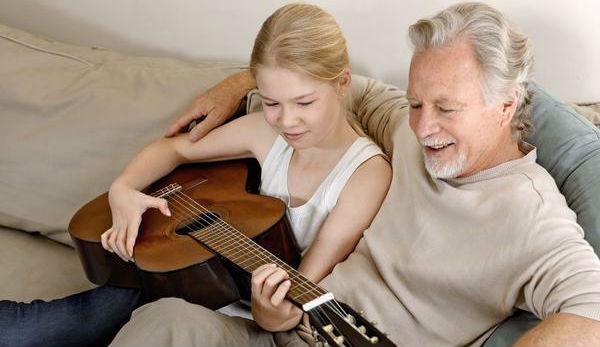 deda i unuka