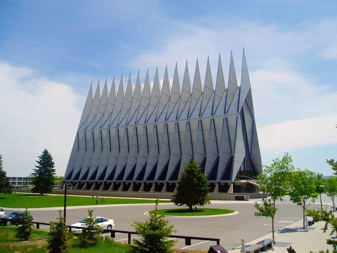 Cadet Chapel Colorado