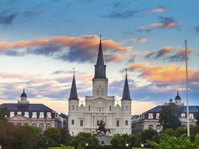 Cathedral-Basilica, New Orleans