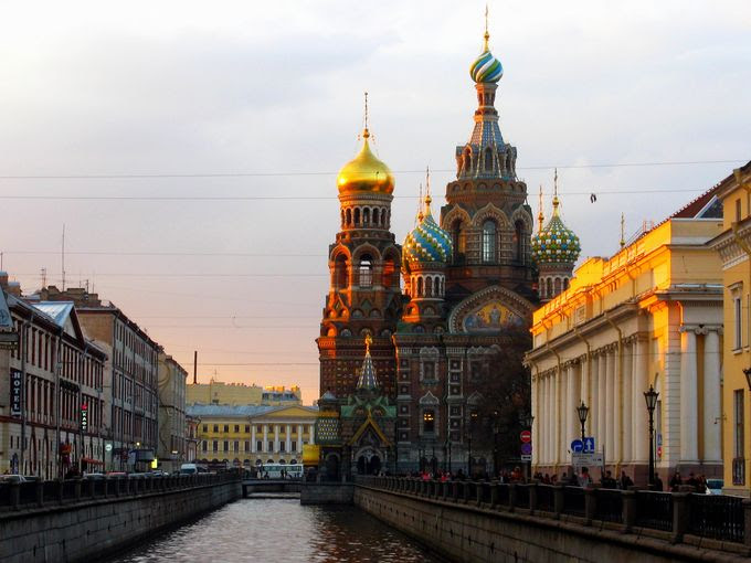 Church of Our Savior, St. Petersburg