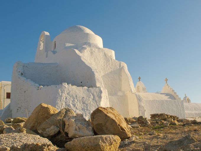 Church of Panagia Paraportiani, Island of Mykonos