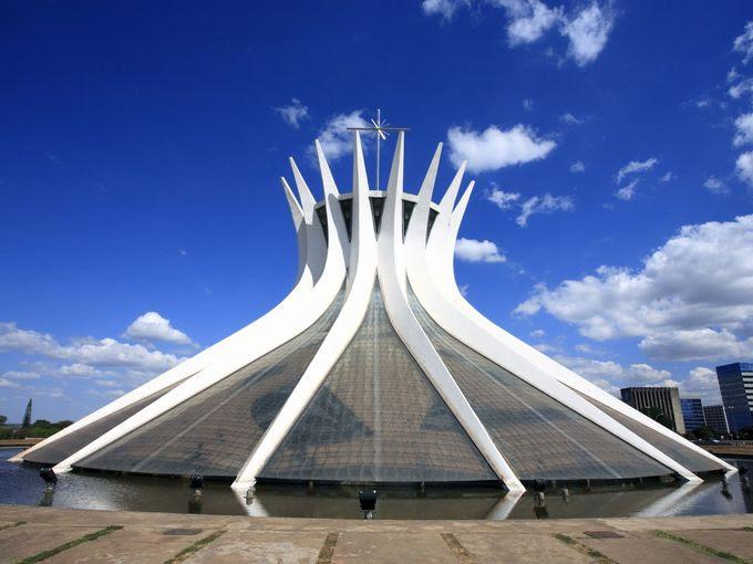 Metropolitan Cathedral of Our Lady Aparecida, Brasilia,Brazil